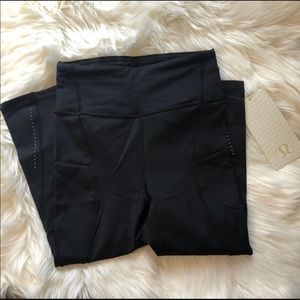 Lululemon Break Free Crop size 4